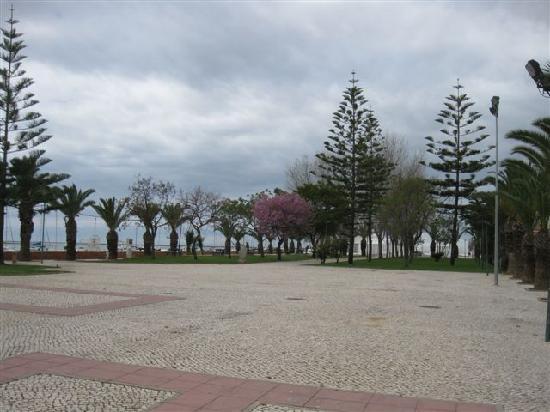 Olhao, Portugal: Olhão, Promenade