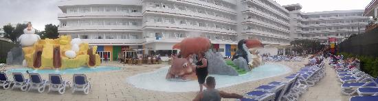 Hotel Condesa de la Bahia: New water park