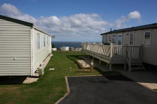 Reighton Sands Holiday Park - Haven: view from our standard caravan