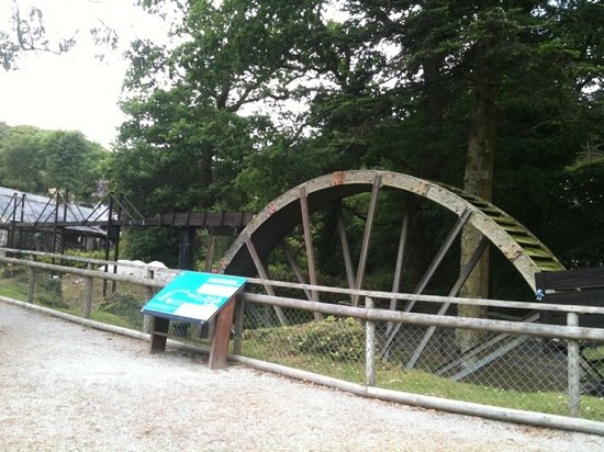 Wheal Martyn: water wheel