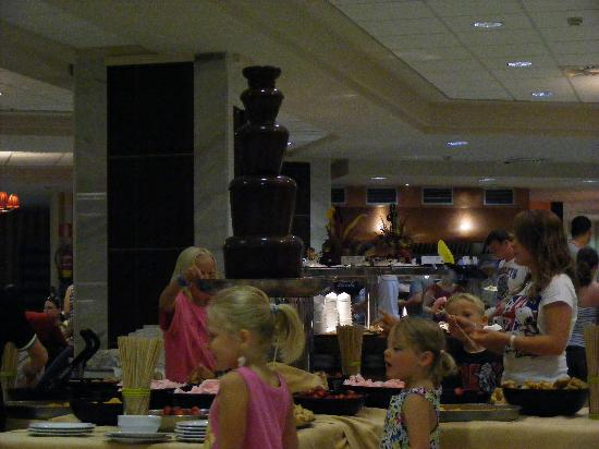 Holiday Village: one of the restaurants