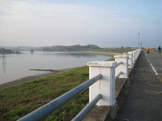 Wusanto Reservoir : ダム堰堤