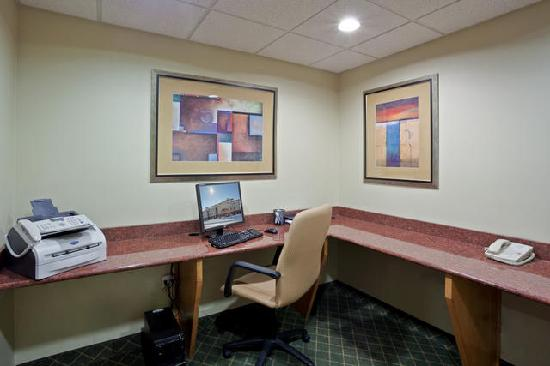 Holiday Inn Express Lincoln South: Business Center