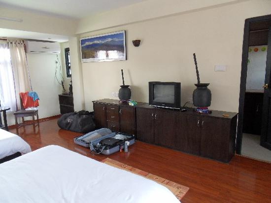 Superior room at Thamel Eco Resort