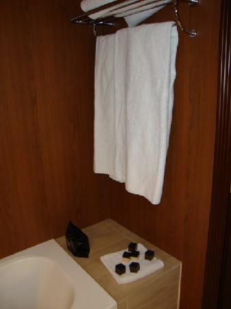Hotel Plaza: baño