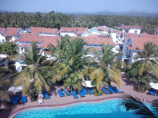 Karma Royal Haathi Mahal: view from top floor