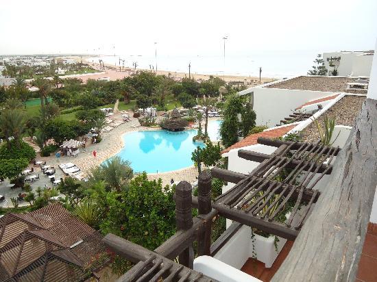 Hotel Riu Tikida Beach: a room with a view