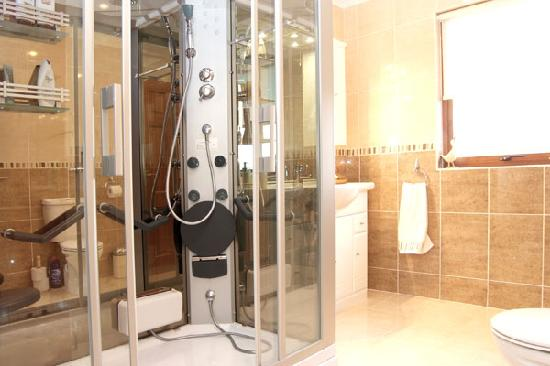 Hillhaven Bed & Breakfast: Shower Room