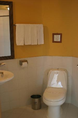โรงแรมลิตเติล ฟรานซ์: Toilet and Shower Room