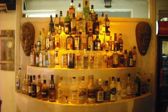 Atlas Bar Restaurant: the selection!