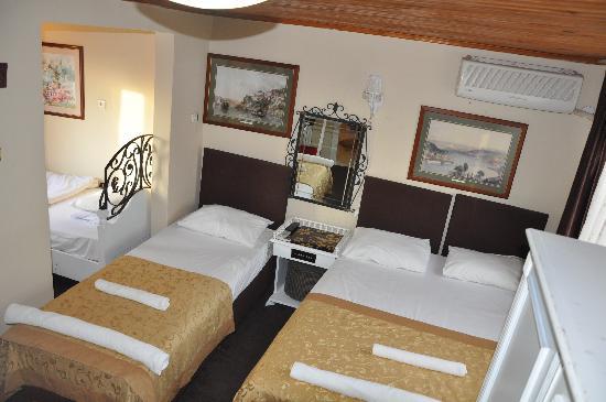 Pasha Moda Hotel : odamız