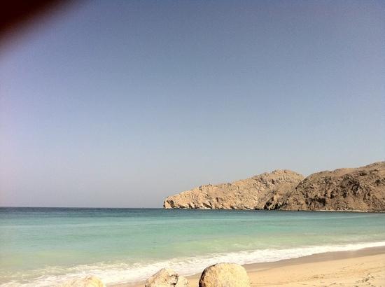 Six Senses Zighy Bay : the beach