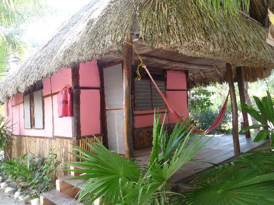 Zomay Hotel Holbox : palapa rosada