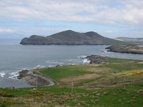 Ring of Kerry: View from near the Valentia slate quarry