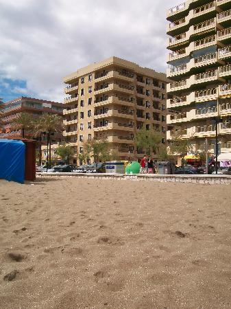 Ronda 4 : view from beach of hotel