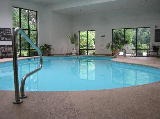 Hampton Inn of Marion, NC: Beautiful indoor pool!