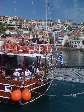 Petros Penthouse &  Studios: Heading for Paxos from Parga