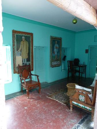 Bristows Haveli: Dressing room leading onto balcony