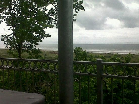 Seascape Holidays : The view from the balcony (on a cloudy day