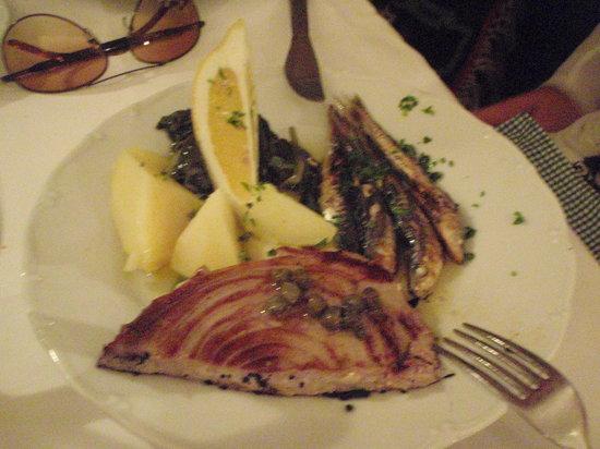 Restaurant Sperun: yummy tuna