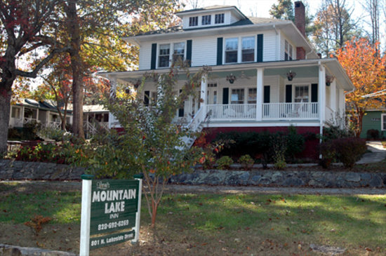Mountain Lake Cottages: The Main House