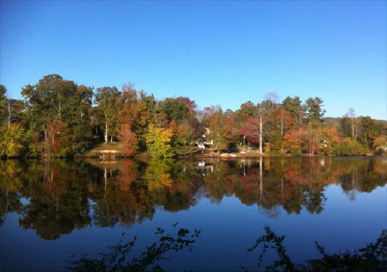 Another View Of Lake Osceola Picture Of Hendersonville