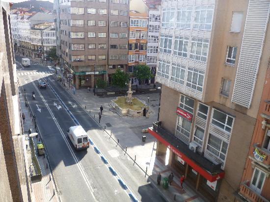 Hotel Nido: Vistas de la calle