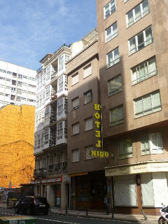 Hotel Nido: Fachada