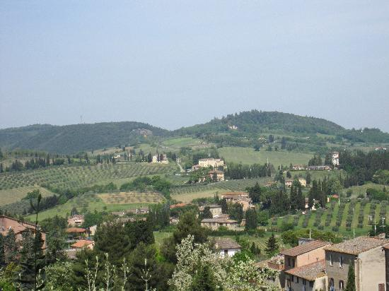 Fabio Apartments San Gimignano: View from town walls