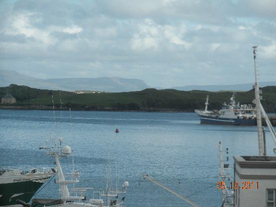 Seawinds B&B: Our view of Killybegs Harbour from Seawinds