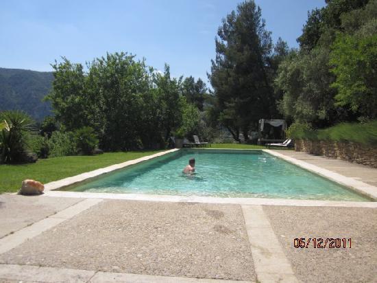 Le Mourre : pool