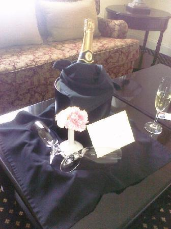 French Quarter Inn: Champagne