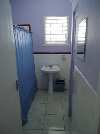 Reggae Hostel : One of the shared bathrooms