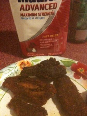 Pizza Jerks: burnt wings