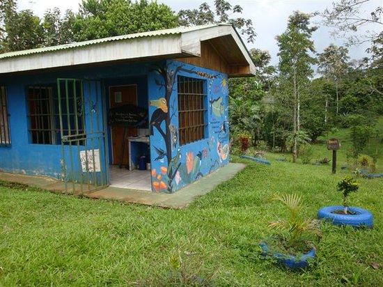 San Carlos, Costa Rica: Entrada a la reserva