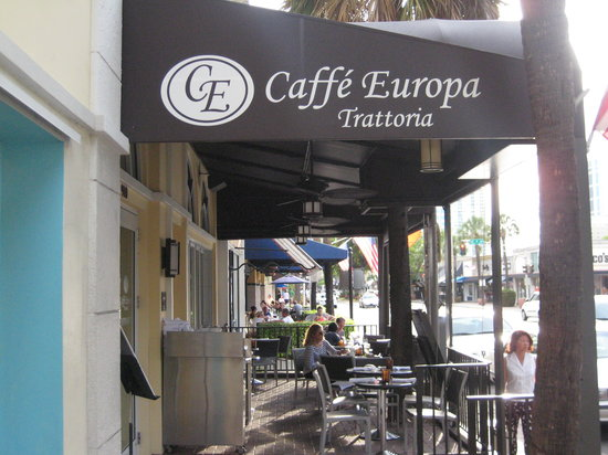 Caffe Europa Fort Lauderdale Restaurant Reviews Phone Number Photos Tripadvisor