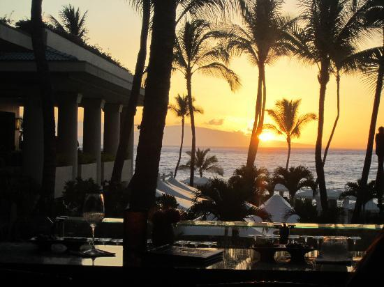 Four Seasons Resort Maui at Wailea: View from lobby bar
