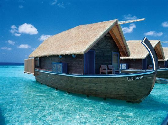COMO Cocoa Island, The Maldives: Dhoni Suite Exterior