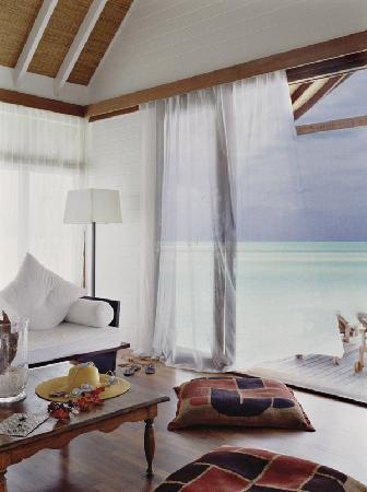 COMO Cocoa Island, The Maldives: One Bedroom Villa Lounge and Terrace