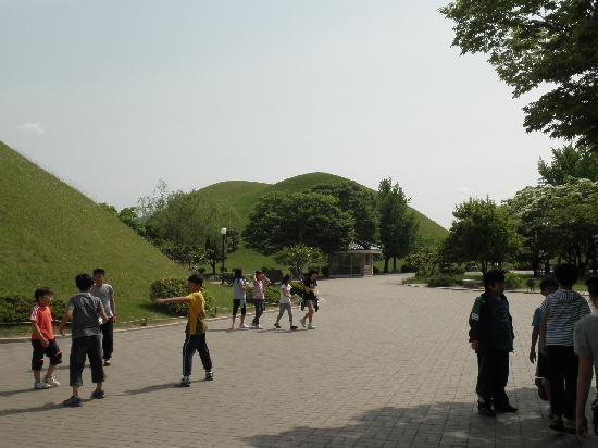 Daereungwon: 古墳群