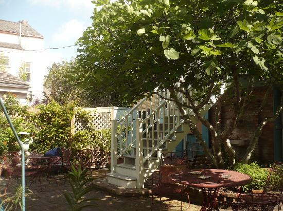 Gentry House: lovely courtyard