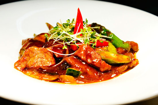 Yo Yo Bar & Restaurant: Beef Asparagus