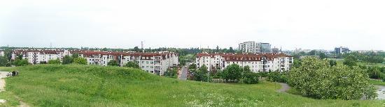 Around Warsaw- city guide : Park Romana Kozlowskiego, west view