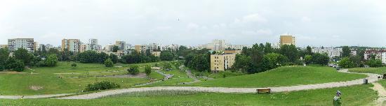 Around Warsaw- city guide : Park Romana Kozlowskiego, south view