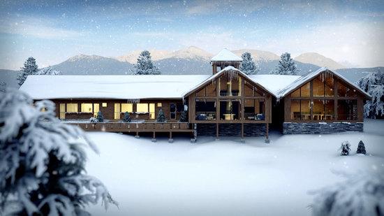 Eikelandsosen, Νορβηγία: Winter in Hålandsdalen, Norway