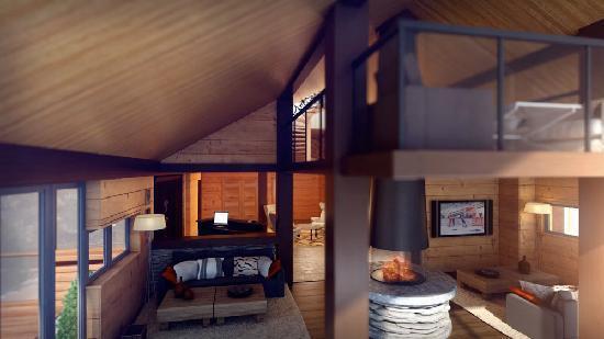 Eikelandsosen, นอร์เวย์: In the heart of the lodge