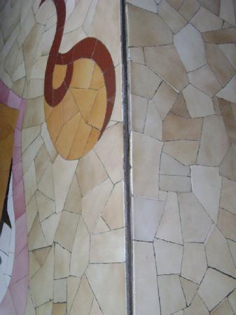 Waterscapes KTDC Backwater Resort: bathroom wall is split open