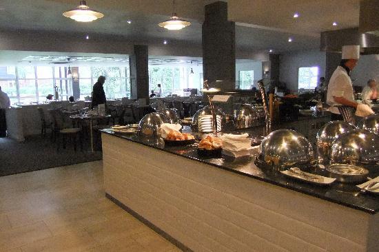 Hayling Island, UK: The restaurant