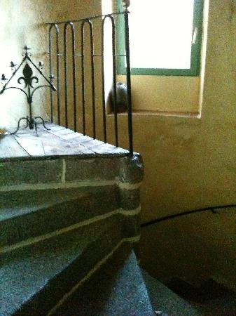 Le Grand Logis : Escalier