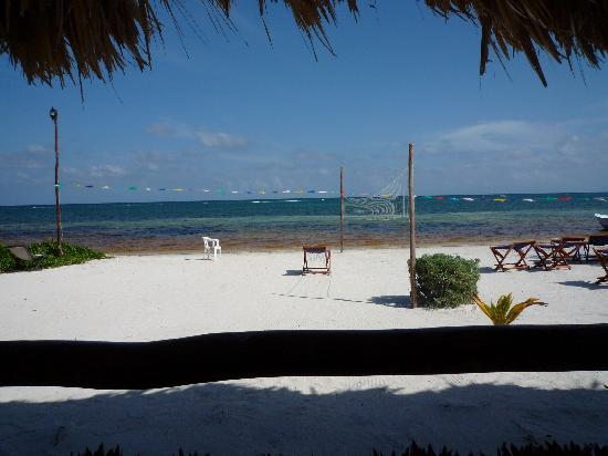 Hotel Maya Luna: Caribbean view from your cabana